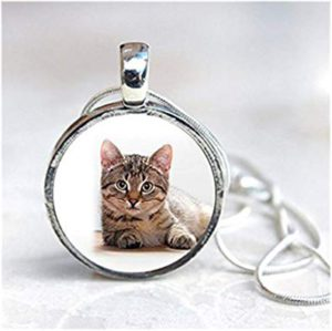 pendentif chat